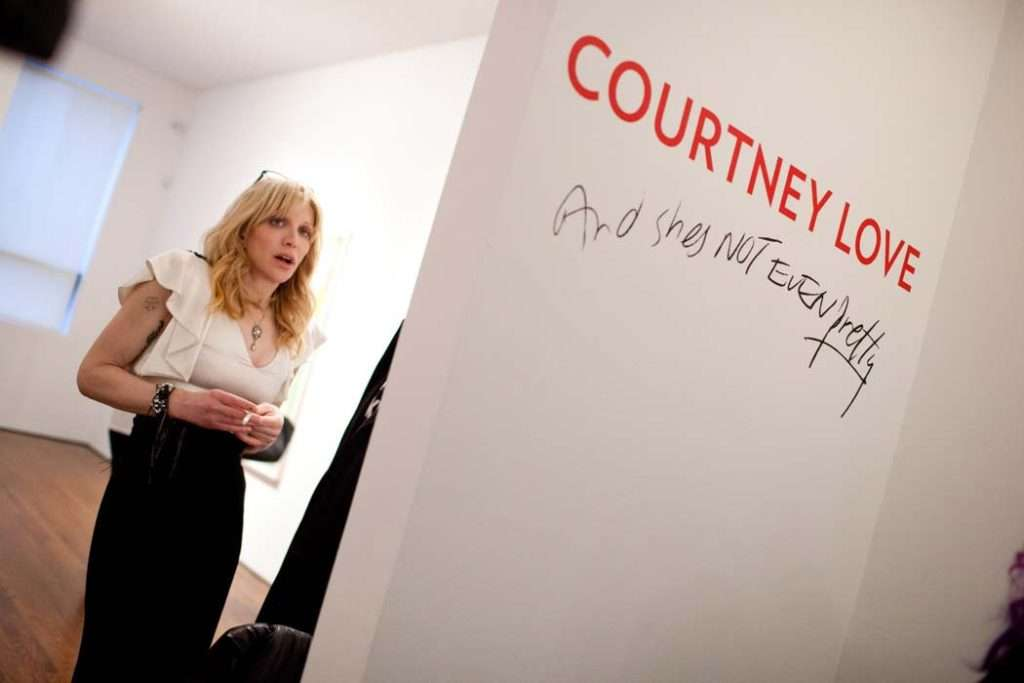 Courtney Love launch event